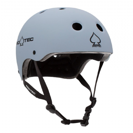Pro-Tec Classic Certified Helmet Matte Light Blue Medium
